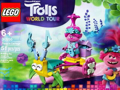 LEGO Trolls World Tour #30555 - Poppy's Carriage - 100% NEW -...
