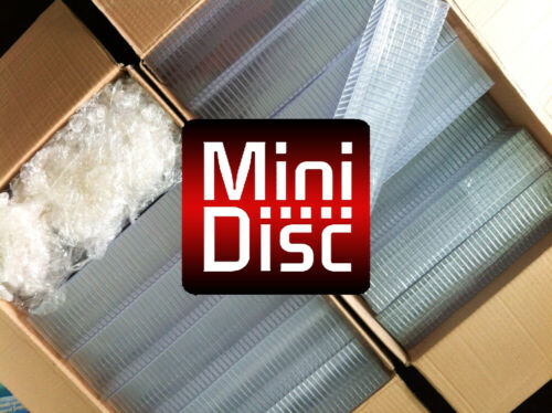 100x empty MiniDisc cases + Three months FREE membership MiniDisc Cover site