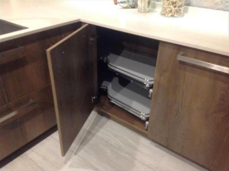 NEUE Küche Küchenzeile Winkelküche L-Küche Einbauküche ...