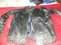 HIGH QUALITY LADIES BLACK MOTORCYCLE & DRESS LEATHERS...SIZE 6