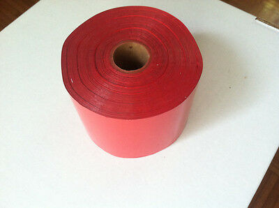 Kwikprint Kingsley Tipper Hot Stamping Printing Foil Roll 1800 Ft. 3 Wide Red