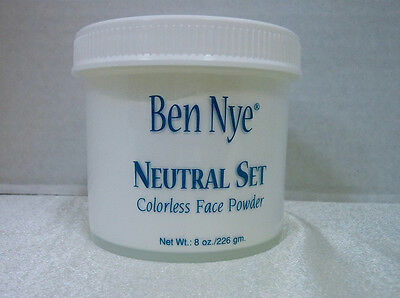 Ben Nye Neutral Set Colorless Face Powder 8 oz