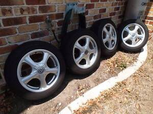 "16"" x 7""mag wheels and tyres Mooloolah Valley Caloundra Area Preview"