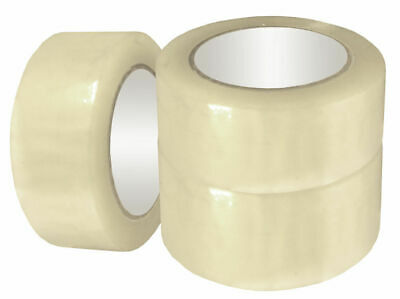 72 Rolls - 2 X 330 Clear Packaging Tape - 110 Yards Bopp Packing - 1.60 Mil