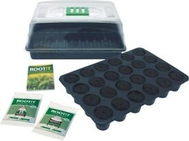 ROOT!T VALUE NATURAL ROOTING SPONGE PROPAGATION KIT SEED STARTING CUTTINGS IDEAL INTRODUCTION KIT