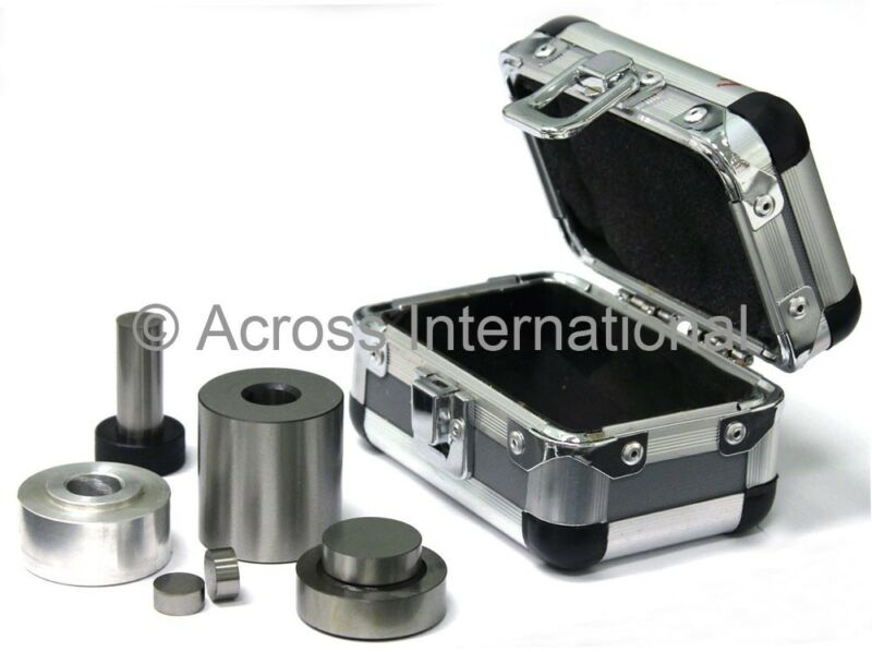 13mm Diameter ID Pellet Press Dry Steel Pressing Die Set Mold