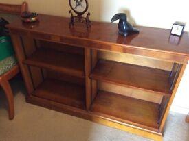 Hardwood bookcase