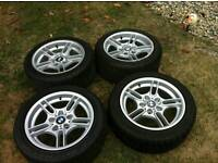 BMW 17 msport Alloys 5x120