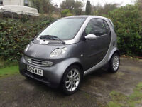 Smart ForTwo Passion Softtouch Automatic, 12 months MOT, Excellent Condition