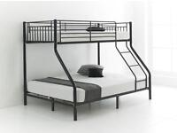 Brand New Trio Sleeper Metal Bunk Base Bed *** We Sell Quality not Quantity ***