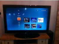 "samsung 32""high definition tv,with freeview (i can deliver if local)"