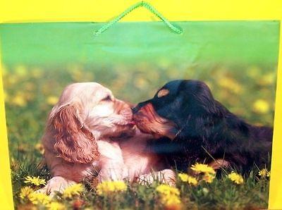 Tasche mit Hunde Motiv Dog Bag Handtasche Hund Cockerspaniel Neu