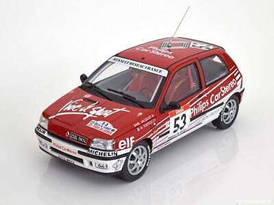NOREV 1:18 AUTO DIE CAST RENAULT CLIO 16S TOUR DE CORSE 1991 N°53 JACQUET 185233