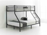 Brand New Trio sleeper Bunk Bed. Single and Double Bed