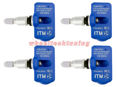 Bentley Flying Spur Tire Pressure Monitoring System Sensor TPMS 2005-2015 ITM