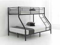 LOWEST PRICES - BRAND NEW TRIPLE METAL BUNK BED ON OFFER