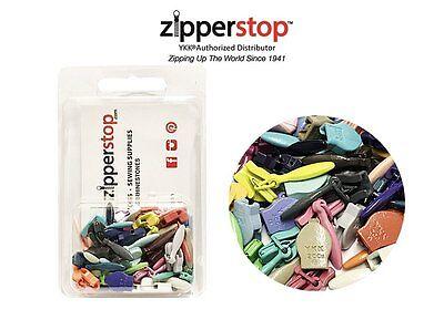 YKK #2ccu Zipper Heads - Sliders Pulls #2cuu (Invisible) Mixed Colors ZIPPER KIT Ccu Kit