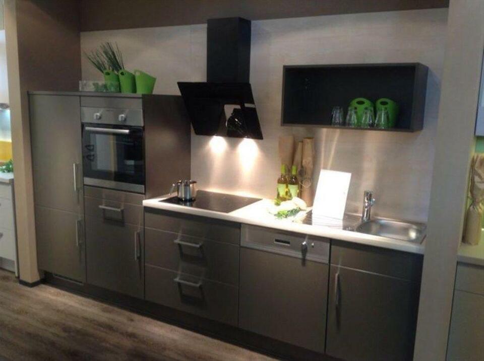 Neue Einbauküche GÜNSTIG Küche mit E-Geräten Küchenzeile NEU 9