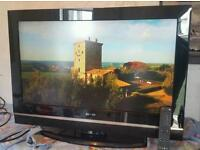 32 inch Sanyo hd tv with remote