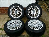 """Bmw 3 series 16"""" alloy wheels will fit e46 e36 e90 - Style 42"""