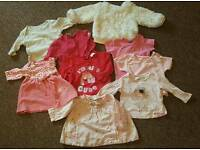 Baby girl bundle job lot newborn - 3 months