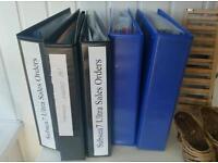 5 office files/folders