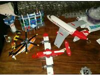 Lego airport and planes
