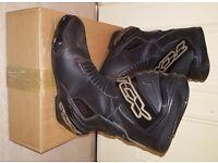 TCX S-Sportour Waterproof Motorcycle Sports Boots - Black 45 (10 UK) #TCX - £60