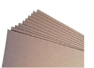 10-X-A4-SHEETS-GREYBOARD-1mm-1000-MICRON-GREY-BOARD-FOR-ART-CRAFT-MODELLING