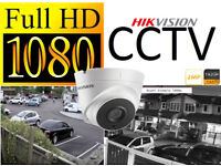 Full HD 1080p CCTV Security Camera System Installation. Includes Fitting and Mobile Phone Viewing