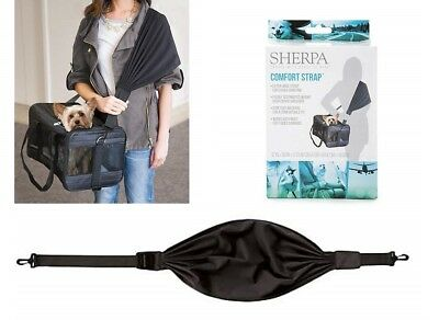 Sherpa COMFORT STRAP TRAVEL Shoulder Distribute CAT Dog Pet Carrier Weight NEW