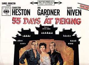 55-Days-At-Peking-1963-Original-Soundtrack-14-Track-LP