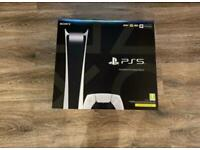 ✅IN HAND BRAND NEW SEALED ✅Sony PlayStation 5 PS5 Console Digital Version