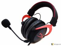 Hyper X Cloud II 7.1 gaming headphones. Exellent condition boxed. Red and Black.