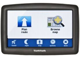 SAT NAV TOM TOM XL IQ ROUTES 2 WITH UK MAPS. GOOD CONDITION AND WORKS PERFECTLY. 4.3 INCH SCREEN