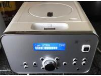 iWantit micro hifi system with DAB and docking for iPhone/pod