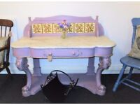 A Victorian Marble Top Wash Stand by Vintiture