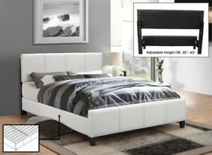 White Bed with Contrast (IF280)