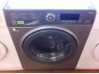 HOTPOINT - Grey, 9KG / 6KG, A Energy, Digital WASHER DRYER + 3 Month Guarantee + FREE LOCAL DELIVERY