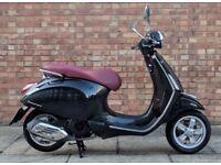 Vespa Primavera 125cc (64 REG), Excellent condition with only 1100 miles!