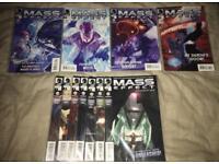 11 Mass Effect comics (Invasion & Foundation)