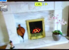 Inset gas fire for sale.