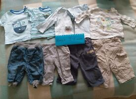 Boys baby clothes, 3-6 months