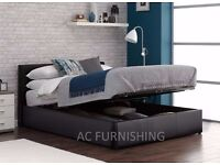★★ OTTOMAN STORAGE BED ★★ FRONT LIFT UP★★ STORAGE BED PRADO BED SINGLE DOUBLE KING