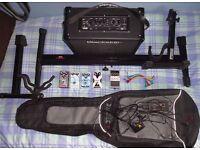 Blackstar Guitar Amp Effects Pedals Stands Bundle Job lot Amplifier Leads Guitar Case