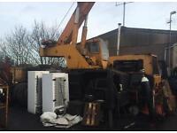 18 tone crane