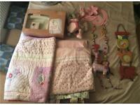 Mamas and Papas Girls bedroom set