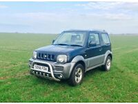 LOW MILAGE * Suzuki Jimny 1.3 JLX+ 3dr 4X4 * EXCELLENT CONDITION