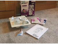 Avent Manual Breast Pump Boxed