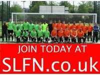 Find a local football team in London, team looking for players in London, join football team. a2h2